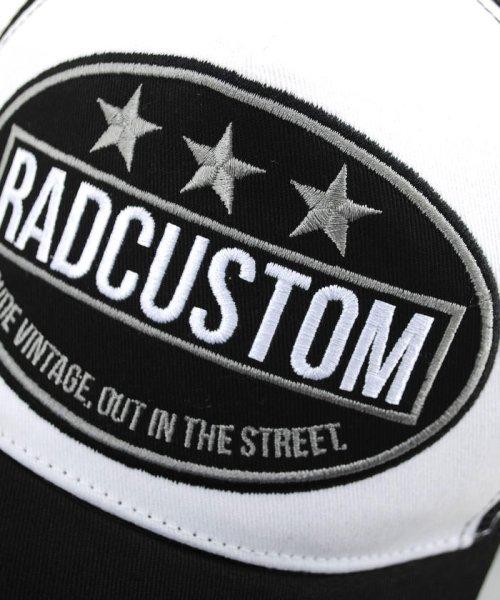RAD CUSTOM(ラッドカスタム)/ツイルワッペン付メッシュキャップ/163410500_img02