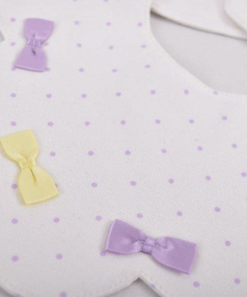 e-baby(イーベビー)/天竺リボンドットプリントスカラップスタイ/183411020_img02