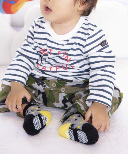 e-baby(イーベビー)/eくんカラーブロックカップソックス/183911003_img05