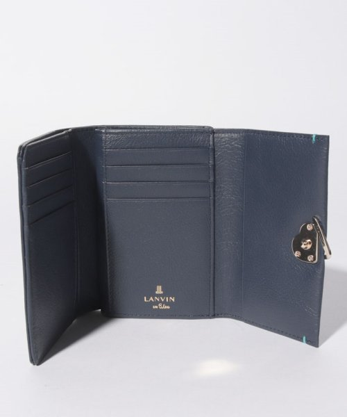 LANVIN en Bleu(BAG)(ランバンオンブルー(バッグ))/ロシェ Lファスナー3つ折り財布/482581_img03
