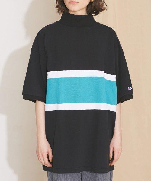 nano・universe(ナノ・ユニバース)/【MIHO NOJIRI × nano・universe】Champion/別注カノコカラーブロックTシャツ/6719124029_img05