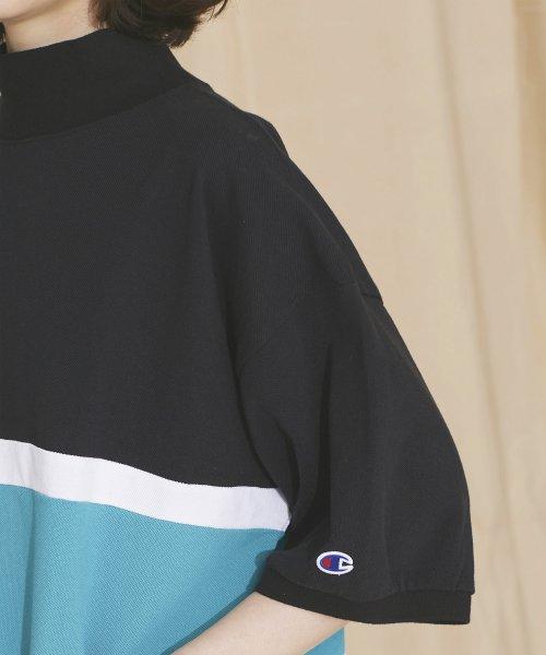 nano・universe(ナノ・ユニバース)/【MIHO NOJIRI × nano・universe】Champion/別注カノコカラーブロックTシャツ/6719124029_img09