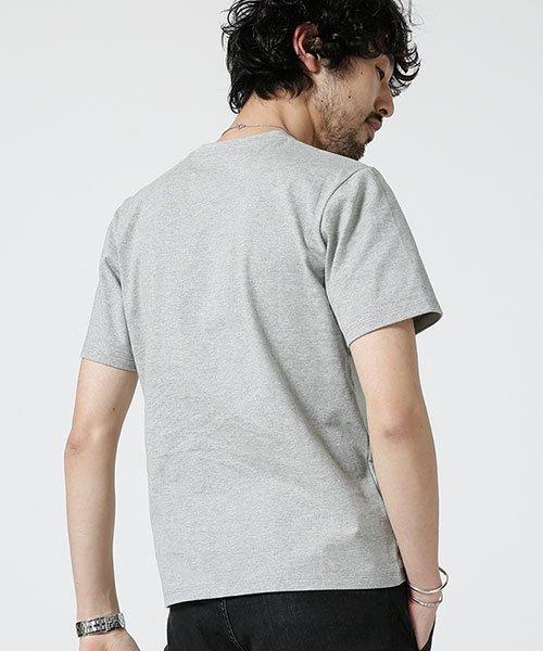 nano・universe(ナノ・ユニバース)/Anti Soaked ヘビーVネックTシャツ/6689124008_img04