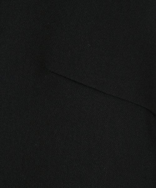 31 Sons de mode(トランテアン ソン ドゥ モード)/★深Vネックプリーツレイヤードワンピース/0079205_img12