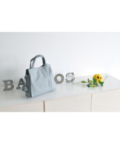BARCOS(バルコス)/ハンドバッグ マット 2WAY シュリンクレザー/BTV040_img02