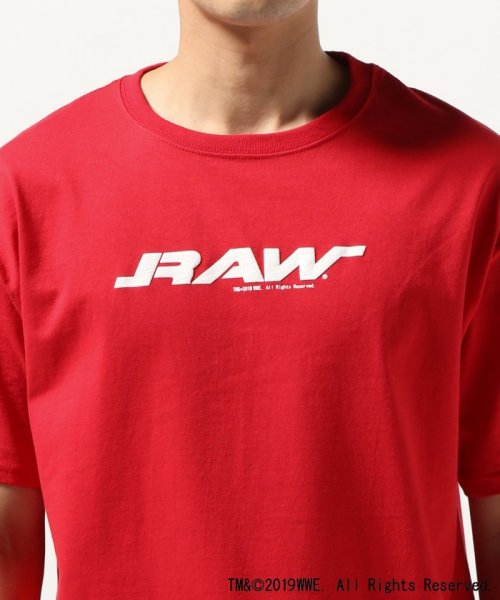 JOURNAL STANDARD(ジャーナルスタンダード)/WWE×JOURNAL STANDARD : RAW SS TEE/19071610016310_img04