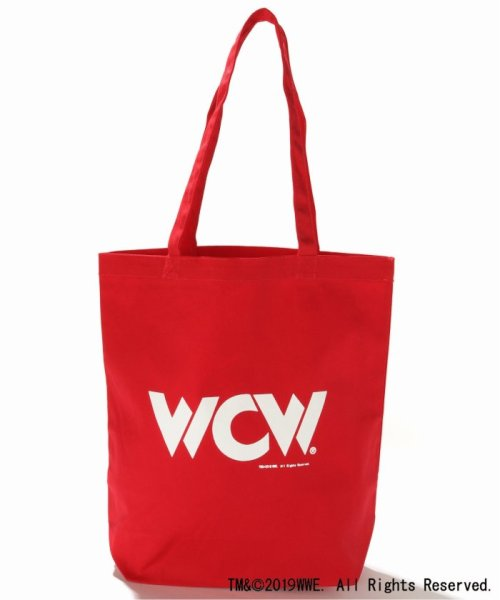 JOURNAL STANDARD(ジャーナルスタンダード)/WWE×JOURNAL STANDARD : WCW ECO TOTE(CANVAS)/19092610009310_img01