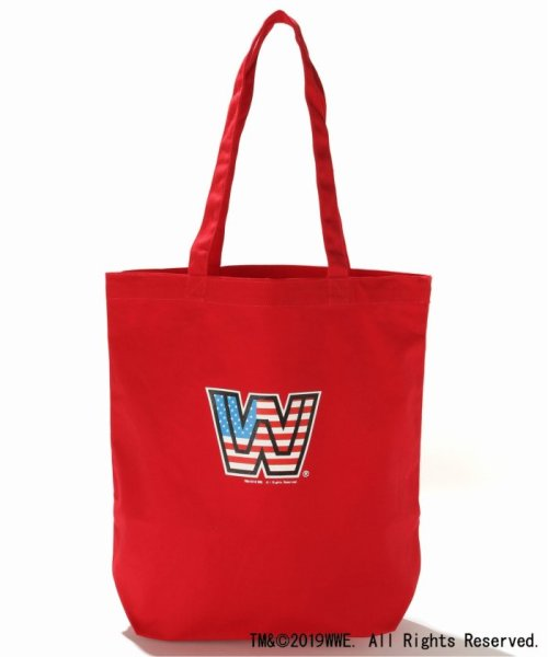 JOURNAL STANDARD(ジャーナルスタンダード)/WWE×JOURNAL STANDARD : WWE ECO TOTE(CANVAS)/19092610009410_img01