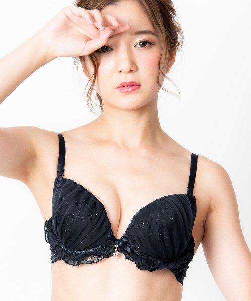 fran de lingerie(フランデランジェリー)/Twinkle Sheer トゥウィンクルシアー ブラ&ショーツセット B65-G75カップ/fb083p173c_img06