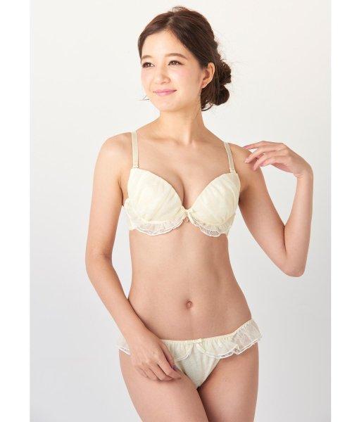 fran de lingerie(フランデランジェリー)/Twinkle Sheer トゥウィンクルシアー ブラ&ショーツセット B65-G75カップ/fb083p173c_img08