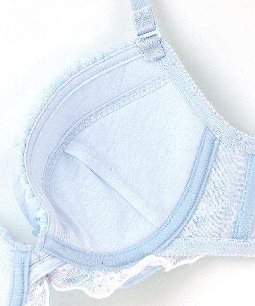 fran de lingerie(フランデランジェリー)/Twinkle Sheer トゥウィンクルシアー ブラ&ショーツセット B65-G75カップ/fb083p173c_img20