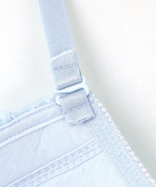 fran de lingerie(フランデランジェリー)/Twinkle Sheer トゥウィンクルシアー ブラ&ショーツセット B65-G75カップ/fb083p173c_img21