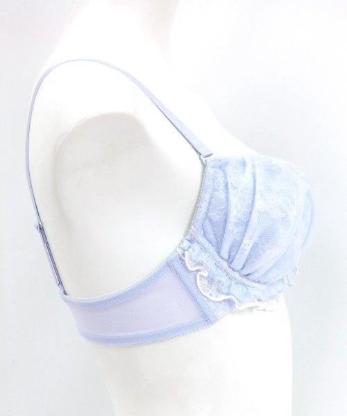 fran de lingerie(フランデランジェリー)/Twinkle Sheer トゥウィンクルシアー ブラ&ショーツセット B65-G75カップ/fb083p173c_img23