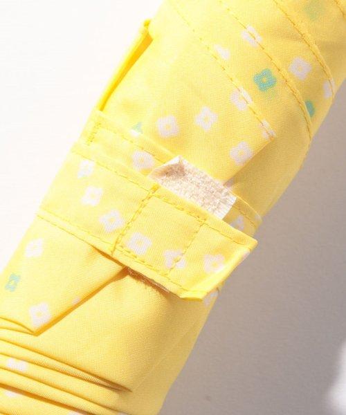 pink trick(ピンクトリック)/BE SUNNY ビーサニー スリム3段折りたたみ傘 サークルフラワー ポーチ付  (晴雨兼用 UVカット 紫外線カット 耐風 軽量 撥水)/87393_img03