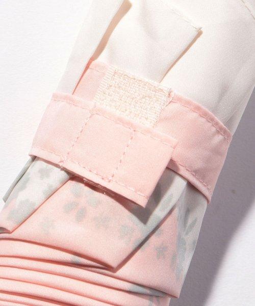 pink trick(ピンクトリック)/BE SUNNY ビーサニー スリム3段折りたたみ傘 フラワークラウン ポーチ付  (晴雨兼用 UVカット 紫外線カット 耐風 軽量 撥水)/87396_img03