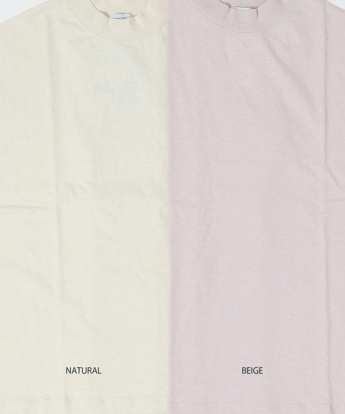 coen(コーエン)/【WEB限定カラーに新色ブラウン登場】USAコットンハイネックTシャツ/76256009019_img17