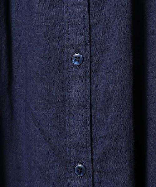 coen(コーエン)/【新色追加・先行販売⇒ブラック・WEB限定カラー⇒コバルトブルー】インディアンコットンギャザーワンピース/76756039004_img35