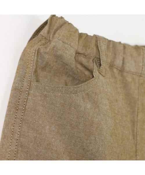 branshes(ブランシェス)/シャンブレークロップドパンツ(80~150cm)/119232409_img13