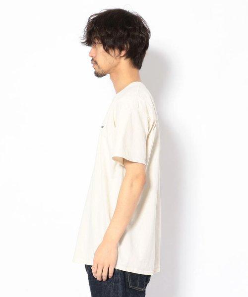 BEAVER(ビーバー)/MANASTASH/マナスタッシュ EMBROIDERY LOGO TEE 刺繍ワンポイントロゴTシャツ/7193069-10_img01