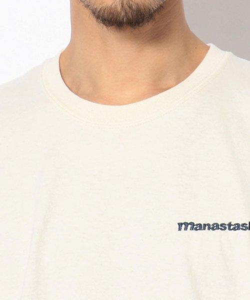 BEAVER(ビーバー)/MANASTASH/マナスタッシュ EMBROIDERY LOGO TEE 刺繍ワンポイントロゴTシャツ/7193069-10_img03