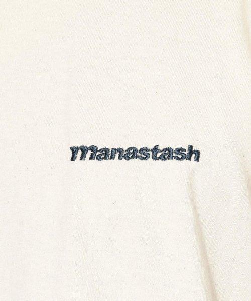 BEAVER(ビーバー)/MANASTASH/マナスタッシュ EMBROIDERY LOGO TEE 刺繍ワンポイントロゴTシャツ/7193069-10_img04