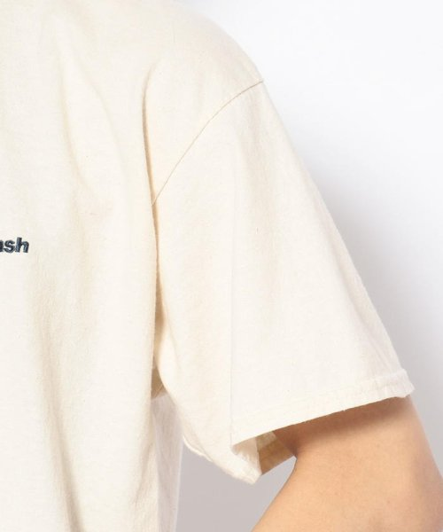 BEAVER(ビーバー)/MANASTASH/マナスタッシュ EMBROIDERY LOGO TEE 刺繍ワンポイントロゴTシャツ/7193069-10_img05
