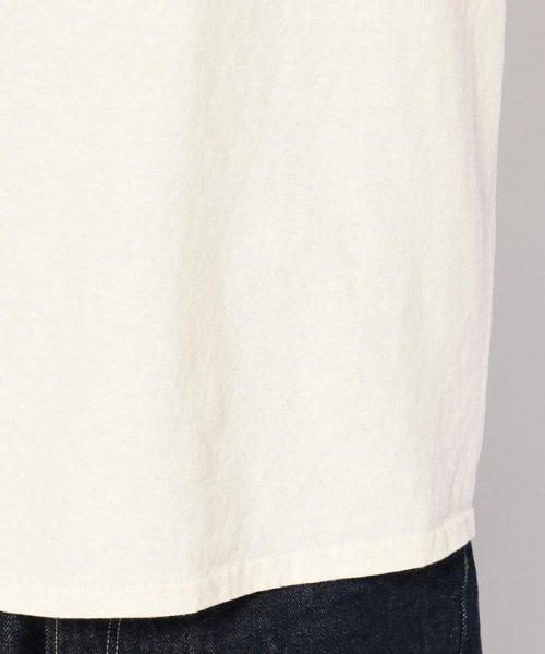 BEAVER(ビーバー)/MANASTASH/マナスタッシュ EMBROIDERY LOGO TEE 刺繍ワンポイントロゴTシャツ/7193069-10_img06