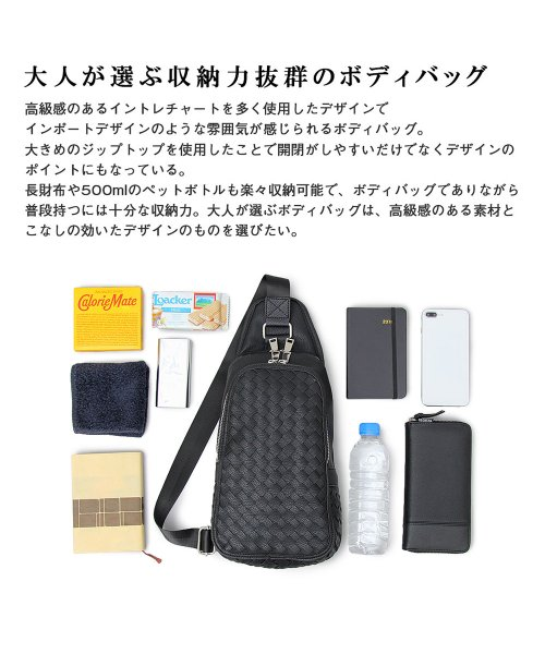 REGiSTA(レジスタ)/イントレチャートPUレザーボディバッグ/523_img05