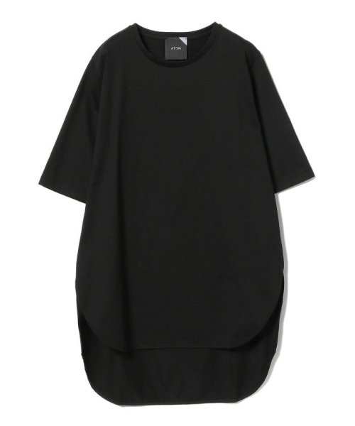 Demi-Luxe BEAMS(デミルクスビームス)/ATON / スビン ラウンドヘム Tシャツ/64040198967_img14