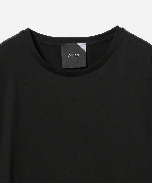 Demi-Luxe BEAMS(デミルクスビームス)/ATON / スビン ラウンドヘム Tシャツ/64040198967_img15