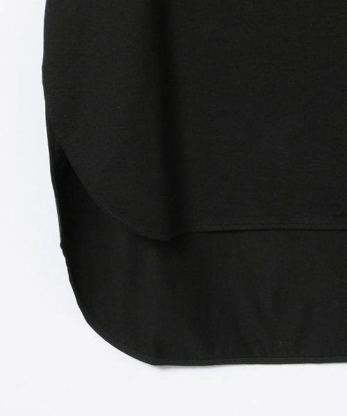 Demi-Luxe BEAMS(デミルクスビームス)/ATON / スビン ラウンドヘム Tシャツ/64040198967_img16