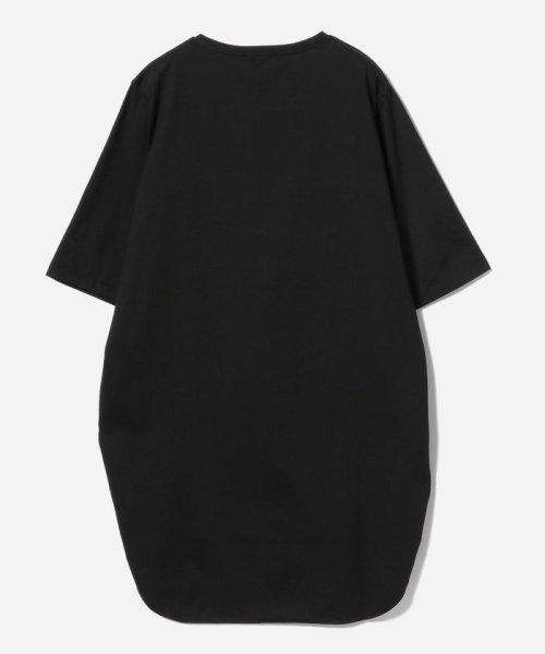 Demi-Luxe BEAMS(デミルクスビームス)/ATON / スビン ラウンドヘム Tシャツ/64040198967_img17