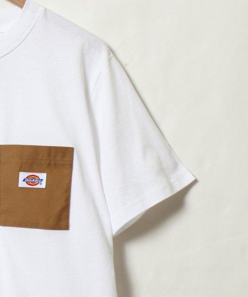 coen(コーエン)/Dickies(ディッキーズ)別注ポケットTシャツ19SS(一部WEB限定カラー)/75256009047_img01