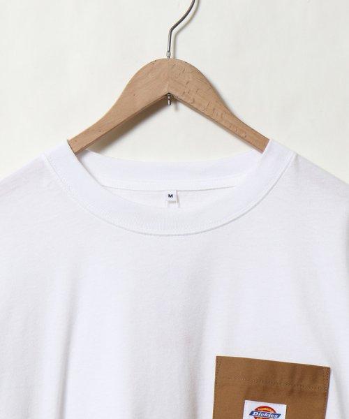 coen(コーエン)/Dickies(ディッキーズ)別注ポケットTシャツ19SS(一部WEB限定カラー)/75256009047_img02