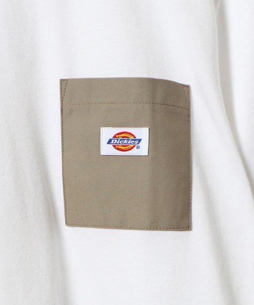 coen(コーエン)/Dickies(ディッキーズ)別注ポケットTシャツ19SS(一部WEB限定カラー)/75256009047_img07