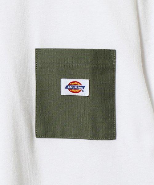 coen(コーエン)/Dickies(ディッキーズ)別注ポケットTシャツ19SS(一部WEB限定カラー)/75256009047_img08