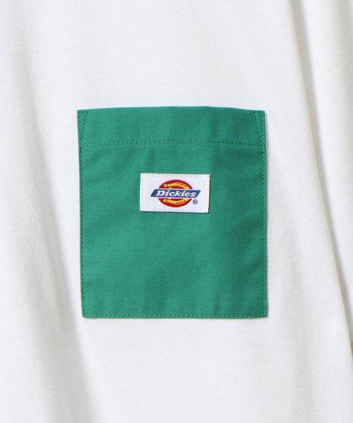 coen(コーエン)/Dickies(ディッキーズ)別注ポケットTシャツ19SS(一部WEB限定カラー)/75256009047_img09