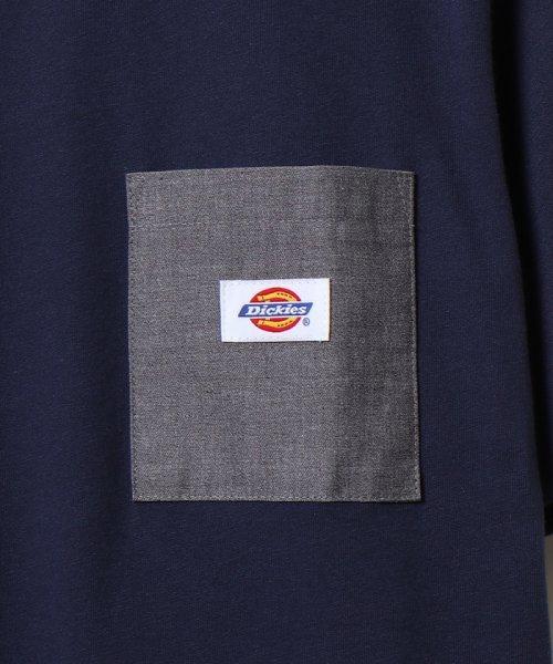 coen(コーエン)/Dickies(ディッキーズ)別注ポケットTシャツ19SS(一部WEB限定カラー)/75256009047_img10