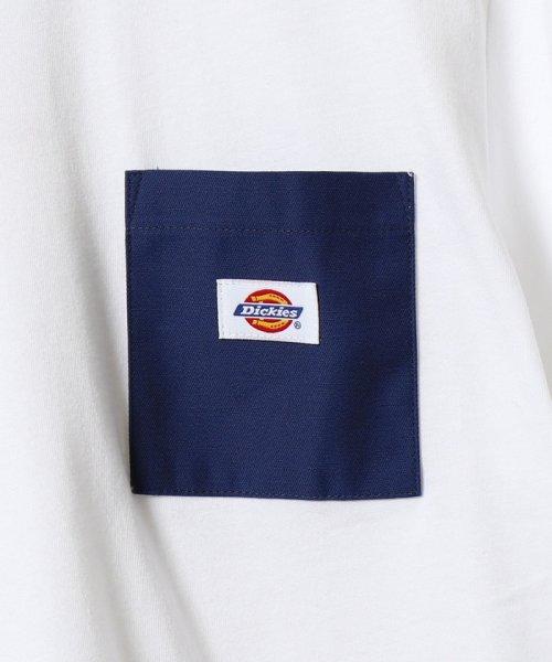 coen(コーエン)/Dickies(ディッキーズ)別注ポケットTシャツ19SS(一部WEB限定カラー)/75256009047_img13