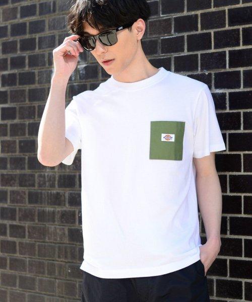 coen(コーエン)/Dickies(ディッキーズ)別注ポケットTシャツ19SS(一部WEB限定カラー)/75256009047_img45
