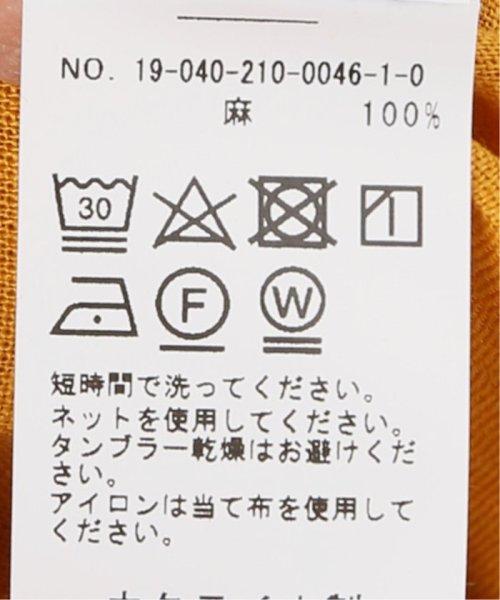 Spick & Span(スピック&スパン)/【SLEEPER】リネンラウンジドレス/19040210004610_img14
