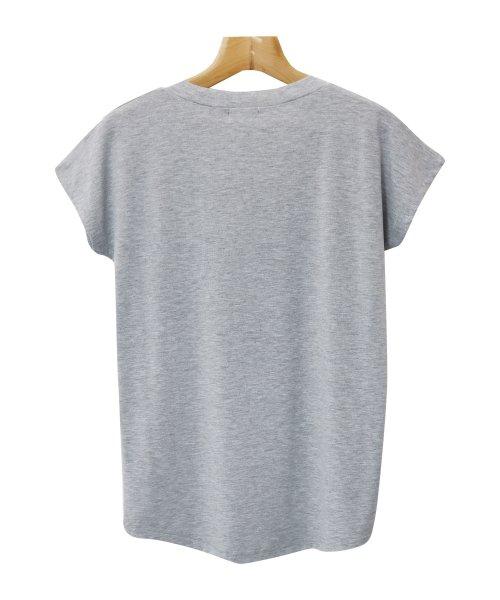 and Me...(アンドミー)/【N-9】UVカット クール素材 Vネック 半袖 Tシャツ/2000032_img17