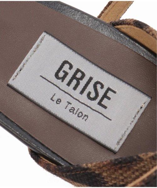 Le Talon(ル タロン)/GRISE 6cmアンクルストラップサンダル◆/19193820154510_img07