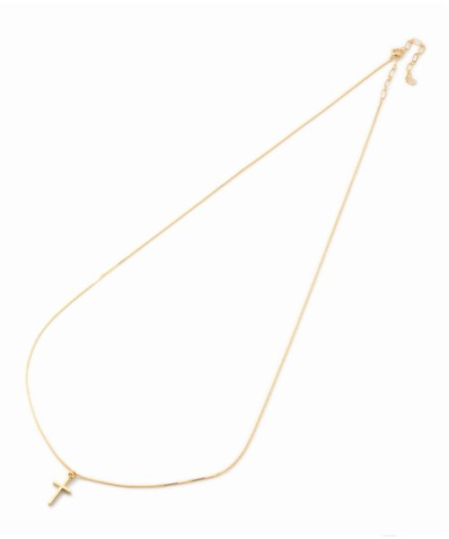 U by Spick&Span(ユーバイ スピック&スパン)/ACC CROSS NECKLACE/19091213002510_img01