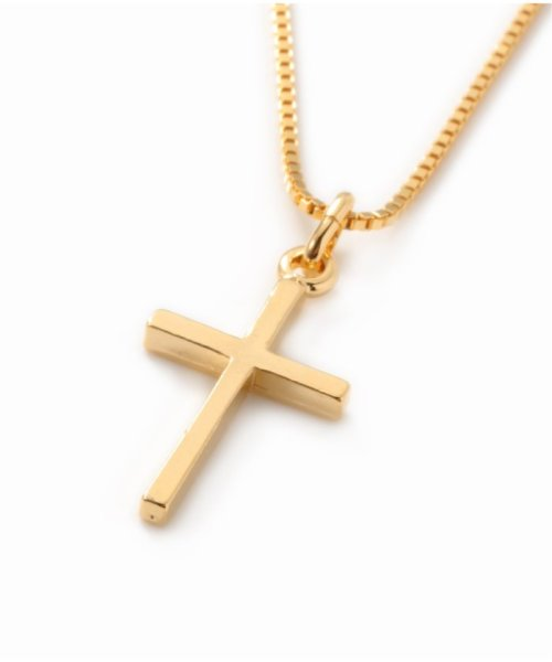 U by Spick&Span(ユーバイ スピック&スパン)/ACC CROSS NECKLACE/19091213002510_img04