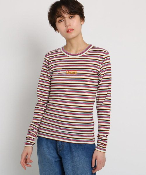 AG by aquagirl(AG バイ アクアガール)/VANS(ヴァンズ)マルチボーダーTシャツ/201901C1216521_img01