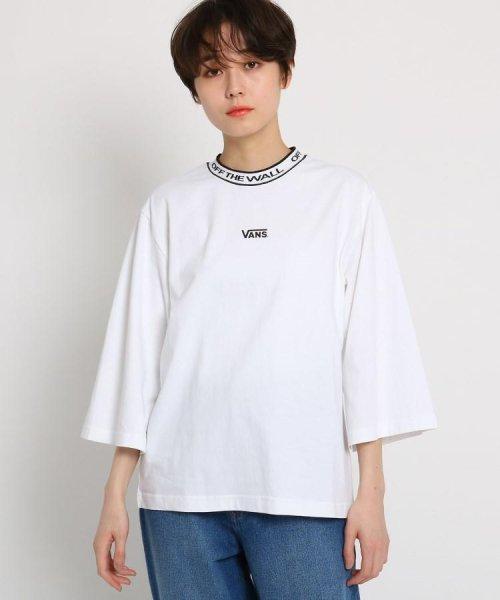 AG by aquagirl(AG バイ アクアガール)/VANS(ヴァンズ)ロゴテープネックTシャツ/201901C1216522_img01