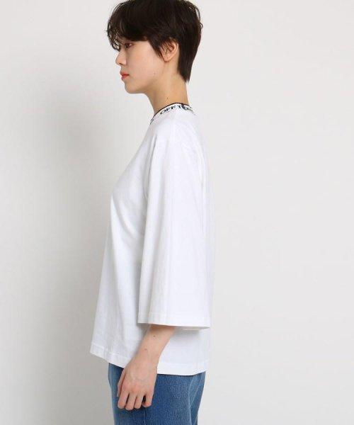 AG by aquagirl(AG バイ アクアガール)/VANS(ヴァンズ)ロゴテープネックTシャツ/201901C1216522_img02