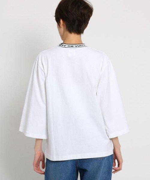 AG by aquagirl(AG バイ アクアガール)/VANS(ヴァンズ)ロゴテープネックTシャツ/201901C1216522_img03