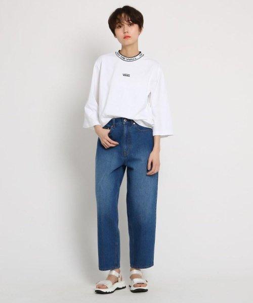 AG by aquagirl(AG バイ アクアガール)/VANS(ヴァンズ)ロゴテープネックTシャツ/201901C1216522_img09